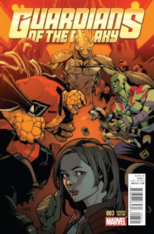 Guardians of the Galaxy #3 (Asrar Cover)