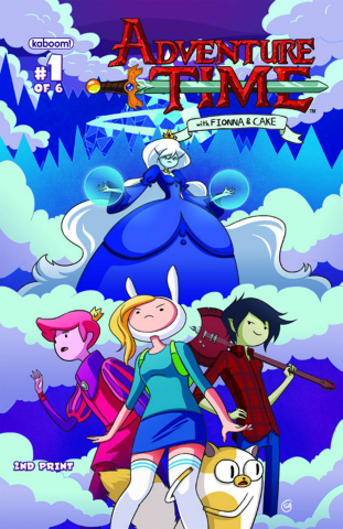 Adventure Time with Fionna & Cake #1 (2nd Printing)