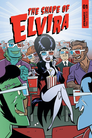 The Shape of Elvira #1 (J. Bone Cover)