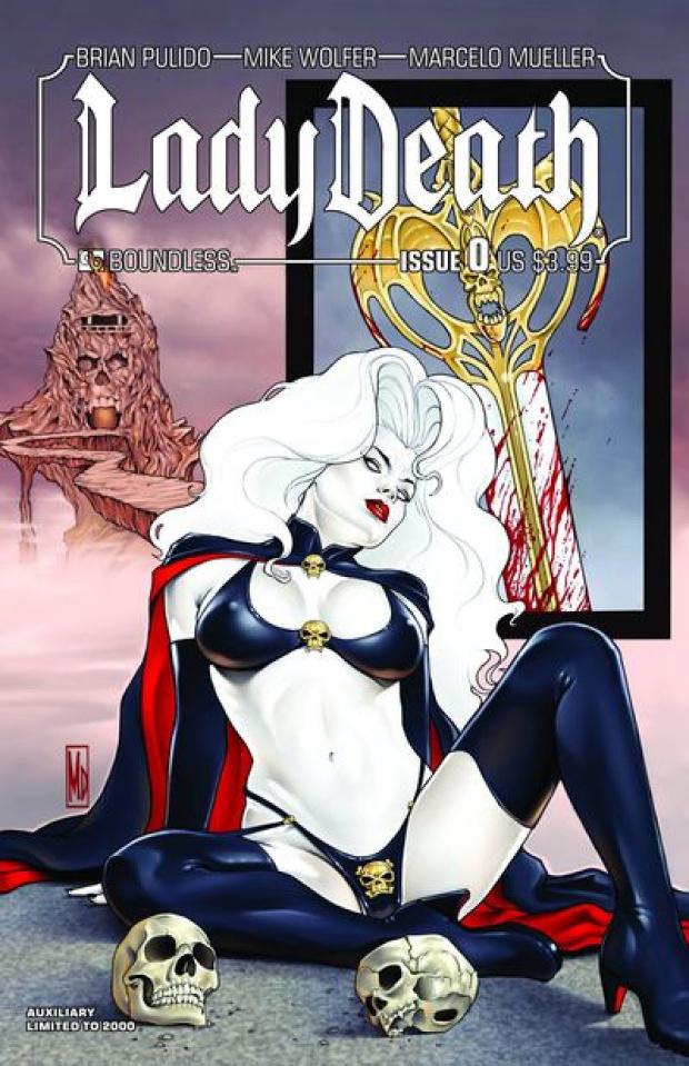 Lady Death #0 Auxiliary