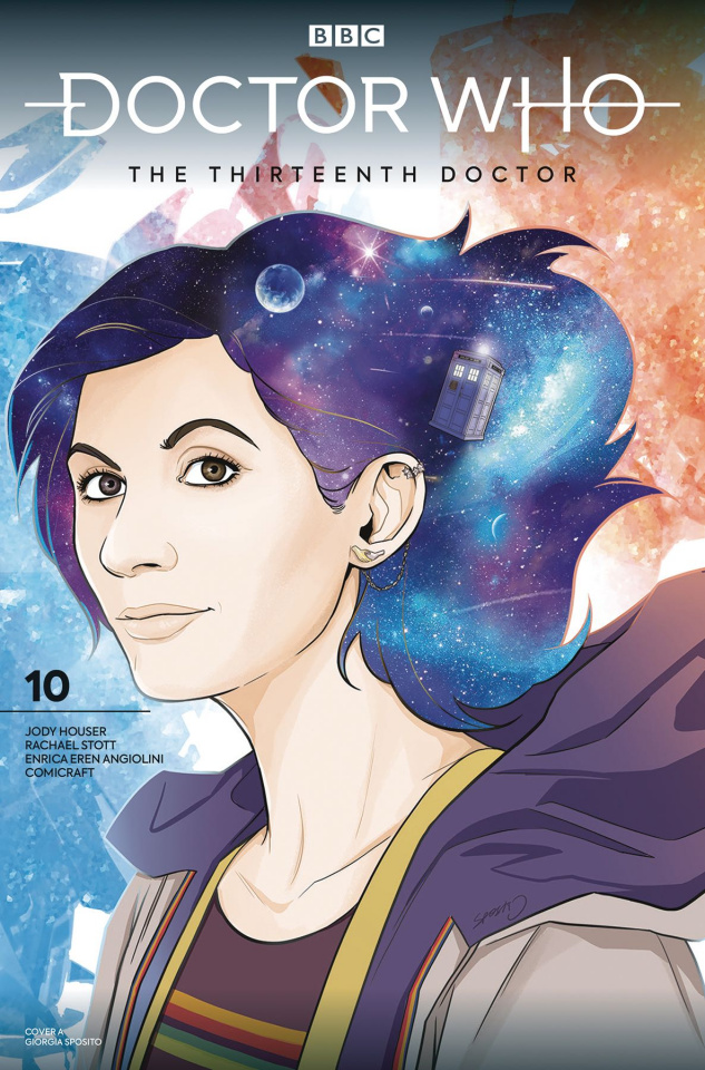 Doctor Who: The Thirteenth Doctor #10 (Sposito Cover)