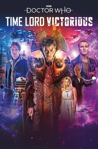 Doctor Who: Time Lord Victorious #1 (Binding Cover)