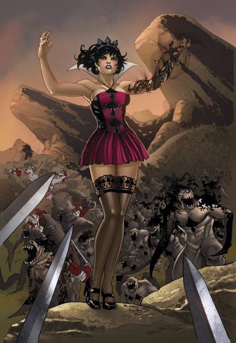 Grimm Fairy Tales: Wonderland - Clash of Queens #2 (Ortiz Cover)
