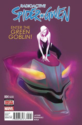 Spider-Gwen #4 (Rodriguez 2nd Printing)