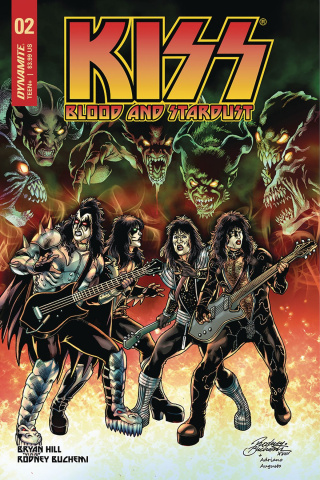 KISS: Blood and Stardust #2 (Buchemi Cover)