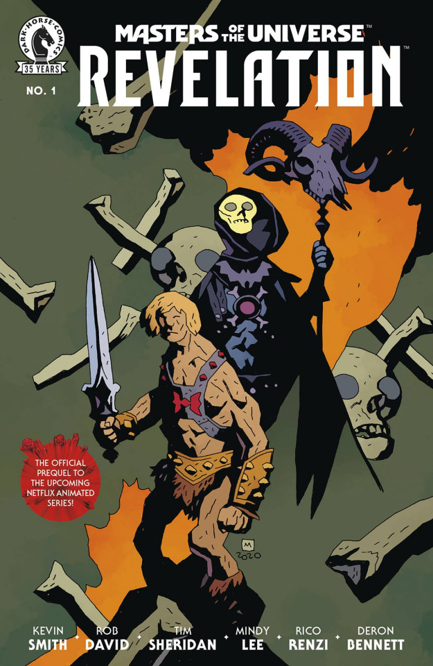 Masters of the Universe: Revelation #1 (Mignola Cover)