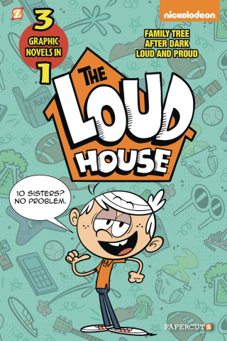 The Loud House Vol. 2 (3-in-1 Edition)