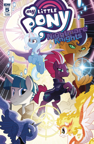 My Little Pony: Nightmare Knights #5 (Fleecs Cover)