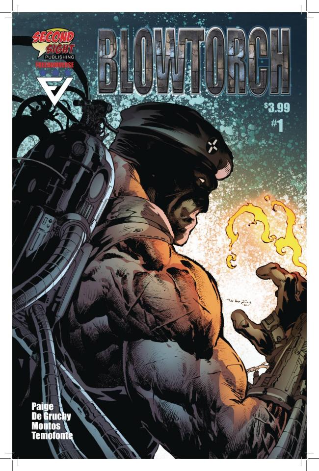 Blowtorch #1 (5 Copy Netho Diaz Cover)