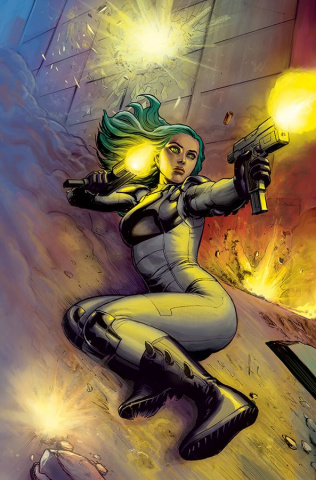 Cyber Force #7 (Virgin Cover)