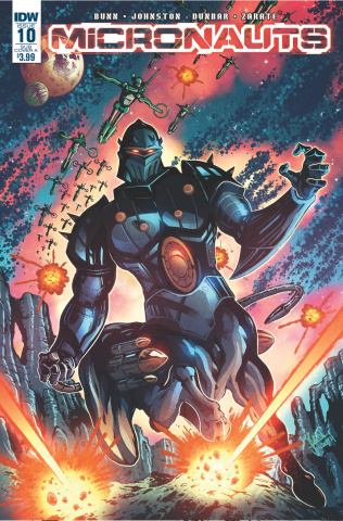 Micronauts #10 (Subscription Cover)