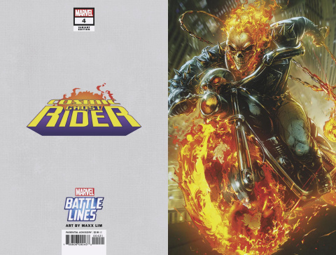 Cosmic Ghost Rider #4 (Maxx Lim Marvel Battle Lines Cover)