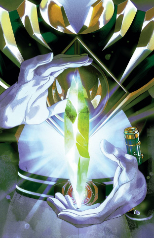 Mighty Morphin' Power Rangers #54 (Foil Montes Cover)