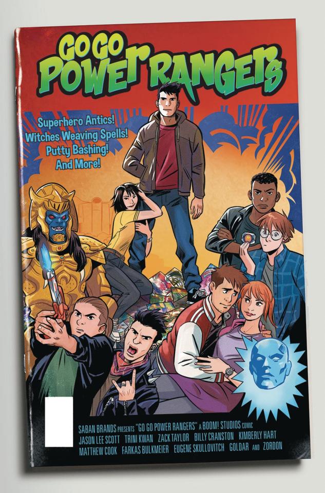 Go, Go, Power Rangers! #11 (25 Copy Bustos Cover)