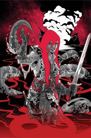 Red Sonja: Black, White, Red #3 (Izaakse Virgin Cover)
