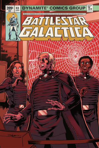 Battlestar Galactica Classic #3 (HDR Cover)