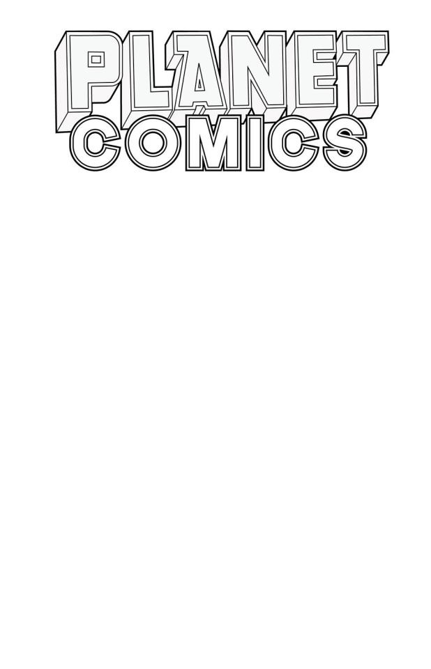 Planet Comics Sketchbook (White Star Edition)