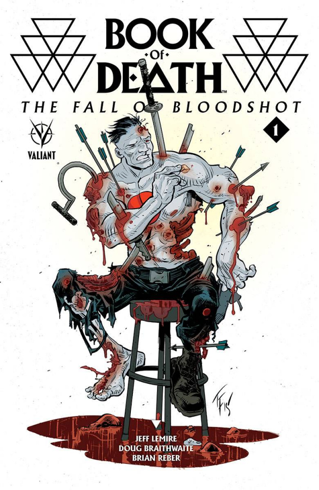 Book of Death: The Fall of Bloodshot #1 (20 Copy Fowler Cover)