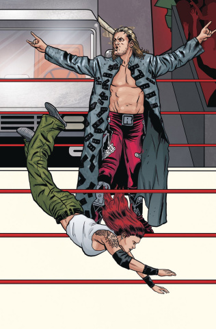 WWE #19 (Schoonover Raw Connecting Cover)