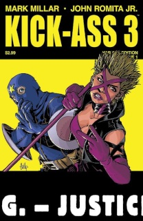 Kick-Ass 3 #1 (Hamner Cover)