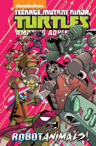 Teenage Mutant Ninja Turtles Adventures: Robotanimals