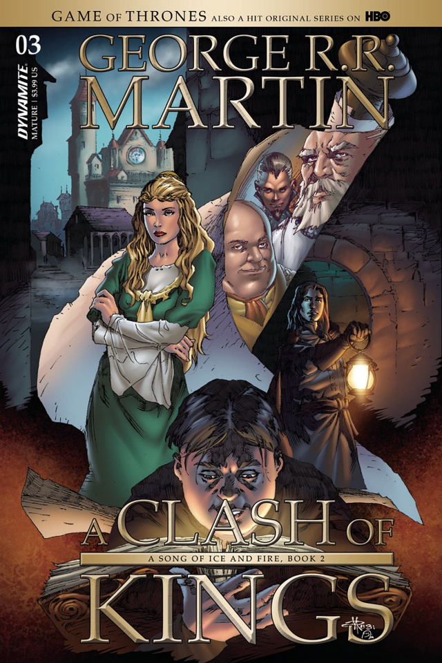 A Game of Thrones: A Clash of Kings #3 (Subscription Cover)