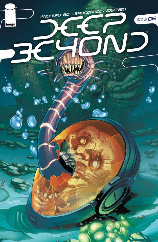 Deep Beyond #6 (Broccardo Cover)