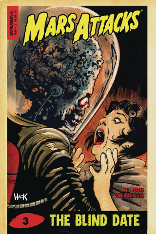 Mars Attacks #3 (Hack Cover)