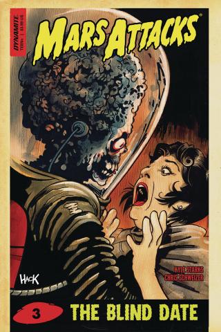 Mars Attacks #3 (Hack Cover)