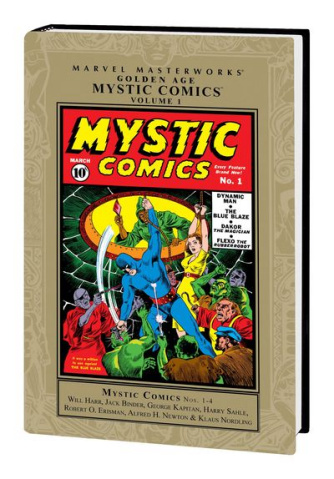 Marvel Masterworks: Golden Age Mystic Comics Vol. 1