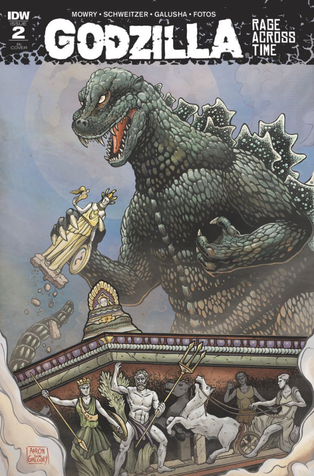 Godzilla: Rage Across Time #2 (10 Copy Cover)