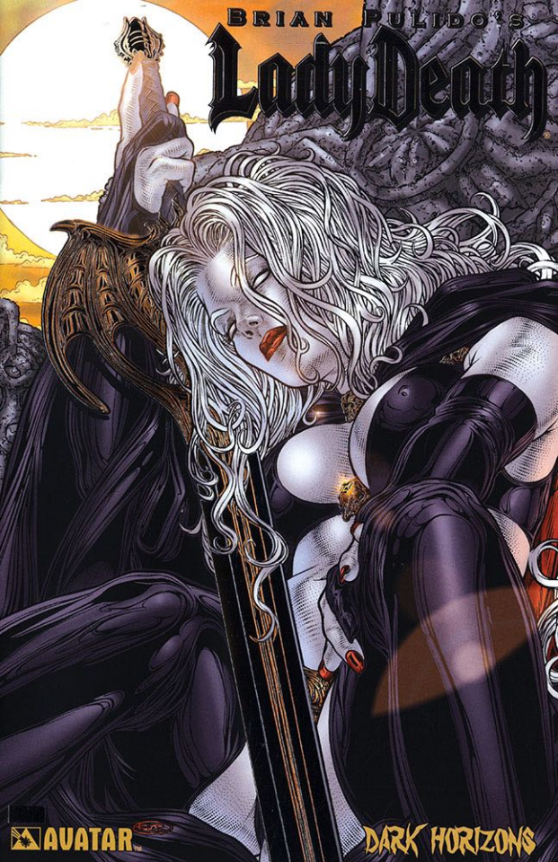 Lady Death: Dark Horizons (Platinum Foil Cover)