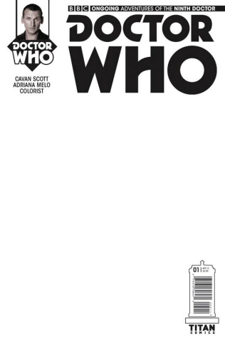 Doctor Who: New Adventures with the Ninth Doctor #1 (Blank Cover)