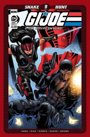 G.I. Joe: A Real American Hero #274 (Atkins Cover)