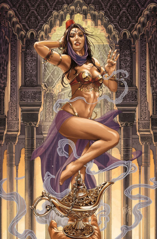 Grimm Fairy Tales #3 (Ruiz Cover)