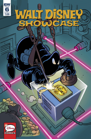 Walt Disney Showcase #6 (Phantom Blot Cavazzano Cover)