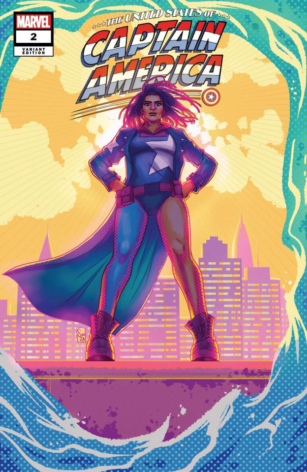 The United States of Captain America #2 (Souza Cover)