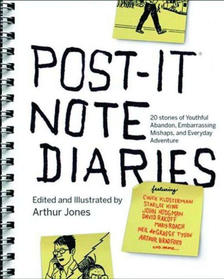 Post It Note Diaries