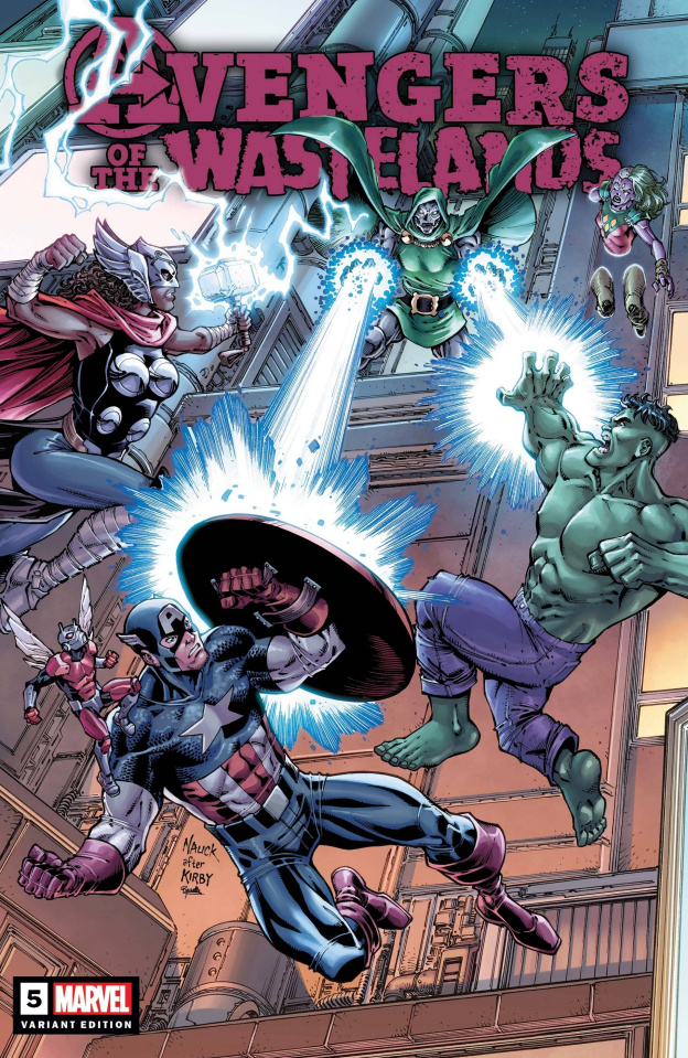 Avengers of the Wastelands #5 (Nauck Cover)