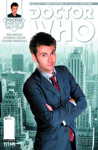 Doctor Who: New Adventures with the Tenth Doctor, Year Two #2 (Subscription Cover)