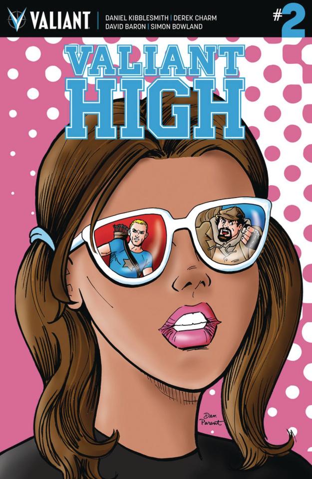 Valiant High #2 (10 Copy Parent Cover)