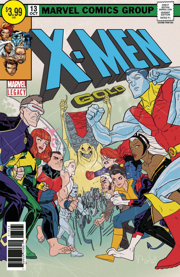 X-Men: Gold #13 (2nd Printing Caldwell Cover)