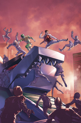 Mighty Morphin' Power Rangers #8