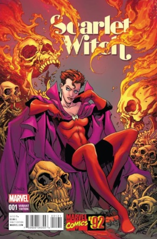 Scarlet Witch #1 (Marvel '92 Raney Cover)
