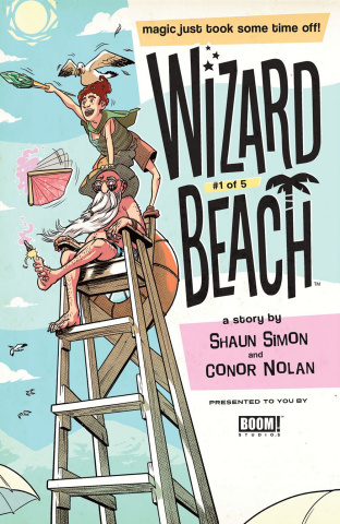 Wizard Beach #1 (Schall Cover)