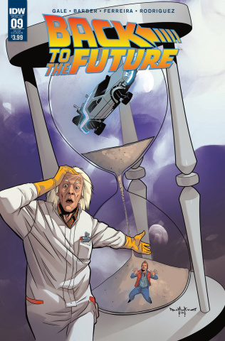 Back to the Future #9 (Subscription Cover)