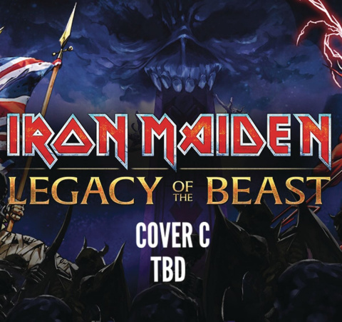 Iron Maiden: Legacy of the Beast #5 (Gordner Cover)