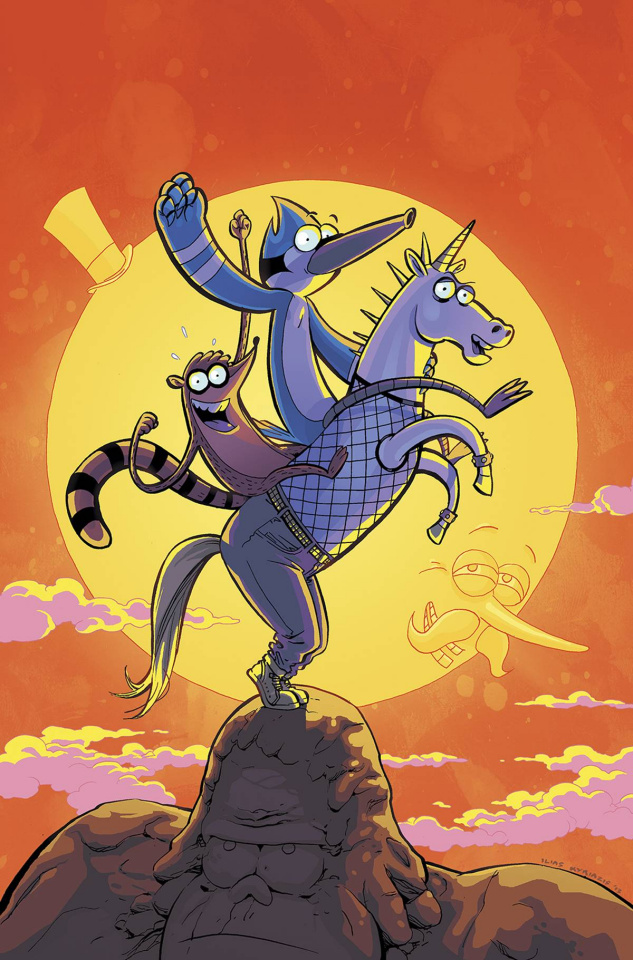 Regular Show #21 (Subscription Kyriazis Cover)