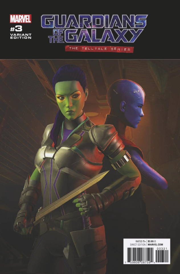 Guardians of the Galaxy: The Telltale Series #3 (Game Cover)