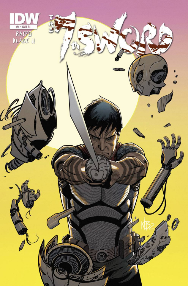 The 7th Sword #1 (Subscription Cover)
